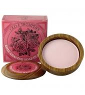 Geo. F. Trumper Shaving soap in wooden bowl Rose