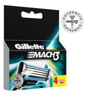 Gillette Mach3® žiletiterad 4tk