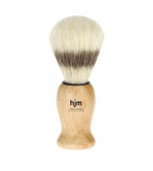 HJM shaving brush, pure bristle, beech wood
