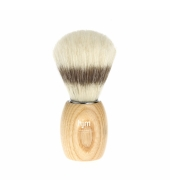 HJM shaving brush, pure bristle, ash natural