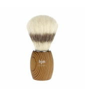 HJM shaving brush, pure bristle, pine thermowood