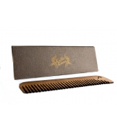 Keltic Krew walnut beard comb Large