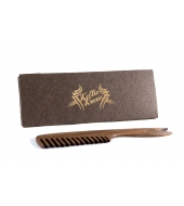 Keltic Krew walnut beard and moustache comb