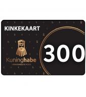 Kinkekaart / soodustuskupong 300 eur