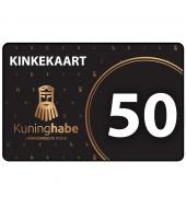 Kinkekaart / soodustuskupong 50 eur