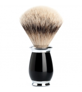 Mühle Purist Silvertip badger high-grade resin black