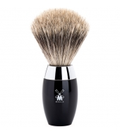 Mühle Shaving brush Kosmo Fine badger Black