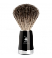 Mühle Liscio Pure badger high-grade resin black