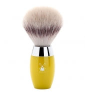 Mühle Kosmo Shaving brush, Silvertip Fibre® High-grade resin, Citrine