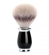 Mühle Purist sünteetiline, Silvertip Fibre® Kõrgkvaliteetne vaik, Must