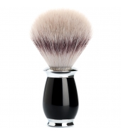 Mühle Purist Silvertip Fibre® high-grade resin black