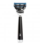 Mühle Liscio 5-blade razor Fusion™ high-grade resin black