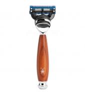 Mühle Vivo 5-blade razor Fusion™ Plum wood