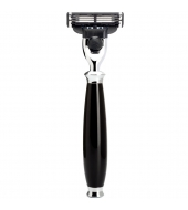 Mühle Purist 3-blade razor Mach3® high-grade resin black