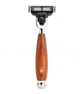 Mühle Vivo 3-blade razor Mach3® Plum wood