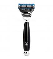 Mühle Vivo 5-blade razor Fusion™ high-grade resin black