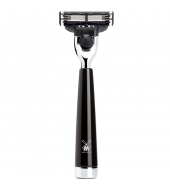Mühle Liscio 3-blade razor Mach3® high-grade resin black