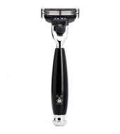 Mühle Vivo 3-blade razor Mach3® high-grade resin black