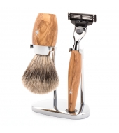 Mühle Shaving set Kosmo Olive wood Mach3