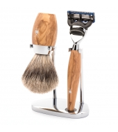 Mühle Shaving set Kosmo Olive wood Fusion
