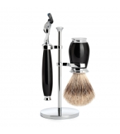 Mühle Shaving set Purist Black Fusion