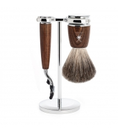 Mühle Shaving set Rytmo Steamed Ash Mach3
