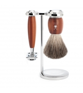 Mühle Shaving set Vivo Plumwood