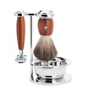Mühle Shaving kit Vivo Plum wood Classic with bowl