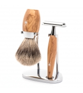 Mühle Shaving set Kosmo Olive wood