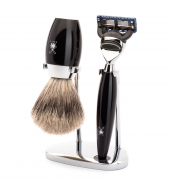 Mühle Shaving set Kosmo Black Fusion