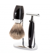 Mühle Shaving set Kosmo Black