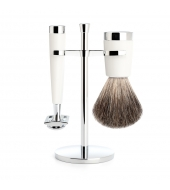 Mühle Shaving kit Liscio White Classic