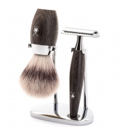 Mühle Shaving set Kosmo Bog oak
