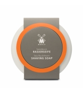 Mühle Shaving soap Sea Buckthorn in porcelain bowl