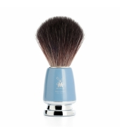 Mühle Shaving brush Rytmo, Black Fibre® High-grade resin, Fjord blue