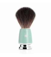 Mühle Shaving brush Rytmo Black Fibre® High-grade resin Mint
