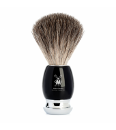 Mühle Vivo Pure badger high-grade resin black