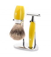 Mühle Shaving set Kosmo Citrine