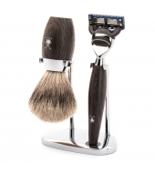 Mühle Shaving set Kosmo Bog oak Fusion