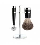 Mühle Shaving kit Liscio Black Classic