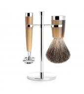 Mühle Shaving set Liscio Horn