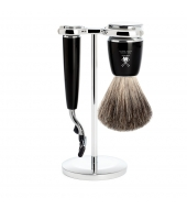 Mühle Shaving set Rytmo Black Mach3