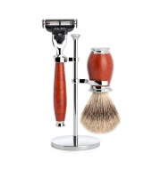Mühle Shaving set Purist Briar wood Mach3