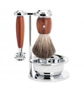 Mühle Shaving kit Vivo Plum wood Classic with bowl