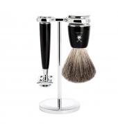 Mühle Shaving kit Rytmo Black Classic