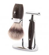 Mühle Shaving set Kosmo Bog oak
