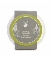 Mühle Aloe Vera Shaving soap in porcelain bowl