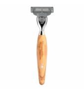 Mühle Kosmo 3-blade razor Mach3® Olive wood