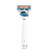 Mühle Liscio 5-blade razor Fusion™ high-grade resin white