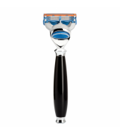 Mühle Purist 5-blade razor Fusion™ high-grade resin black